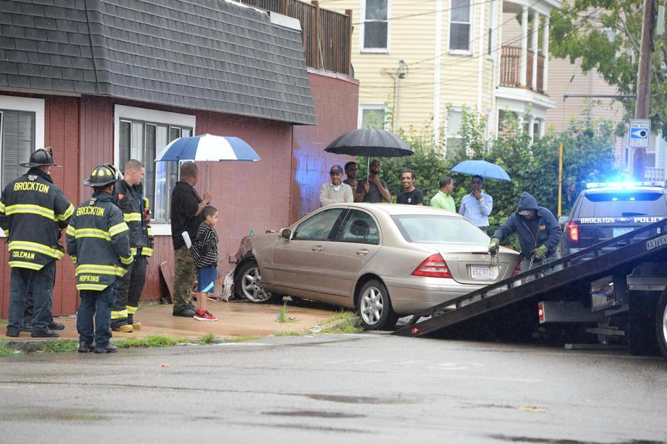 A car crashed into Heidi's Place on Aug. 12.